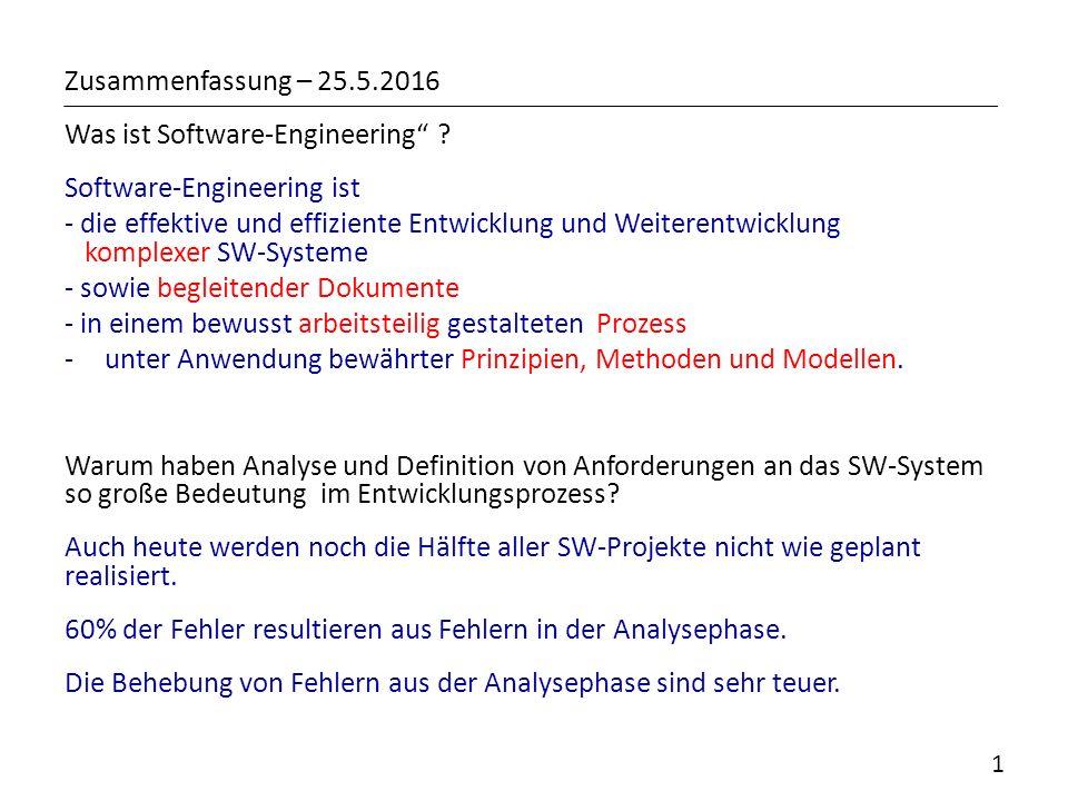 """Zusammenfassung – Was ist Software-Engineering"""" ? Software ..."""
