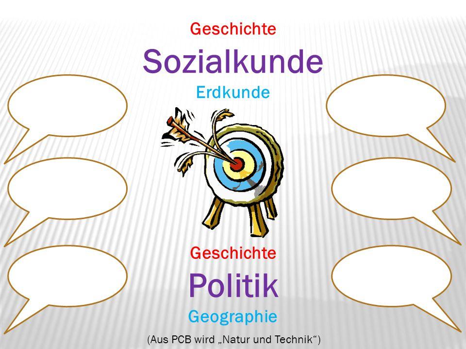 Geschichte Sozialkunde Erdkunde Geschichte Politik Geographie (Aus ...