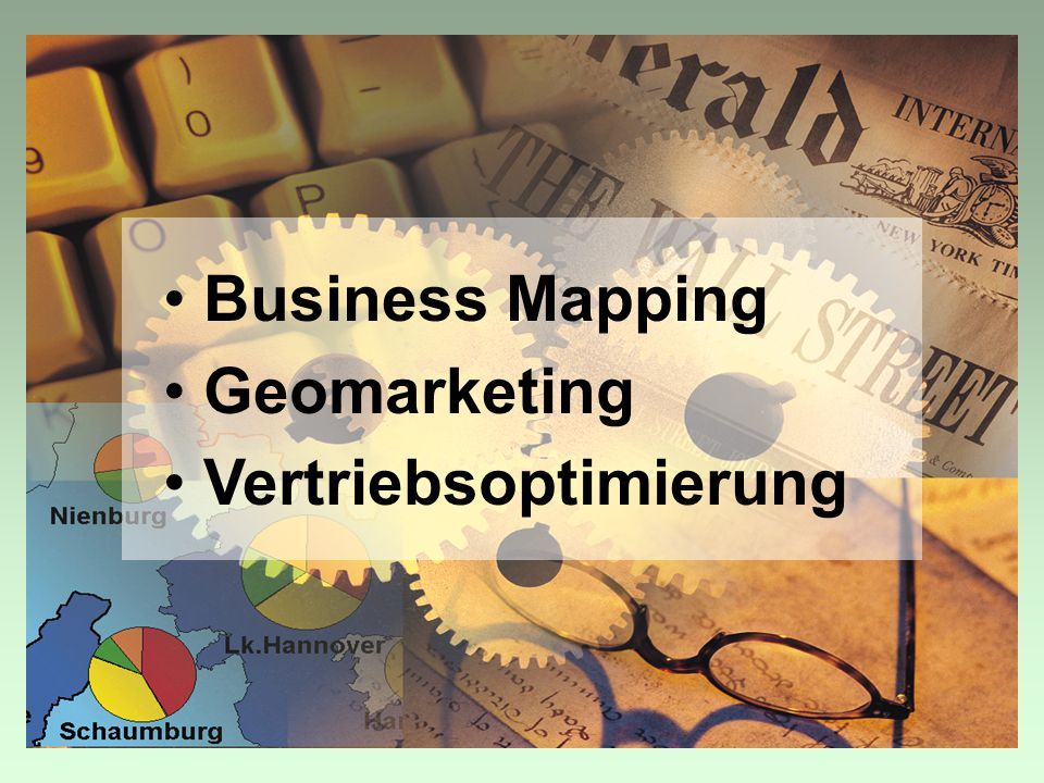 Business Mapping Geomarketing Vertriebsoptimierung